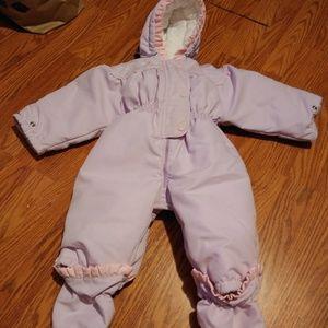 Vintage baby snow suit